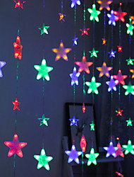 cheap -4m String Lights 272 LEDs Multi Color Decorative 220-240 V 1 set