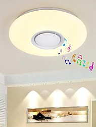 cheap -1-Light 50 cm Eye Protection / Bluetooth Control Flush Mount Lights Plastic Chic & Modern 200-240V / FCC