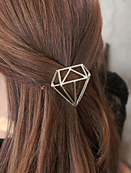 cheap -Headdress Eco-friendly Material Clips Decorations Easy to Carry / Best Quality 1 pcs Daily Trendy / Fashion Silver Golden
