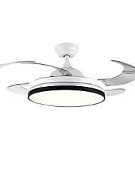 cheap -1-Light QINGMING® 108 cm LED Ceiling Fan Metal Mini Painted Finishes Traditional / Classic / Modern 110-120V / 220-240V