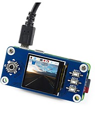 abordables -waveshare 240x240 1.3inch ips lcd chapeau d'affichage pour la framboise pi
