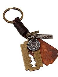cheap -Classic Theme / Creative / Wedding Keychain Favors Chrome / Calf Hair Keychains - 1 pcs All Seasons