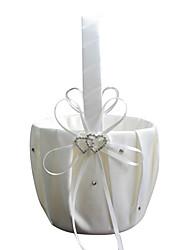 """cheap -Flower Basket Satin 4 1/3"""" (11 cm) Rhinestone 1 pcs"""
