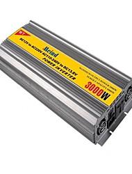 Недорогие -meind® инвертор 3000w с зарядным устройством 12В постоянного тока до 220 В переменного тока преобразователя автомобилей инверторы питания m3000cd