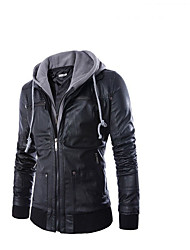 cheap -AOWOFS PY31 Motorcycle Clothes Jacket for Men's PU Leather / Acrylic Fibers Spring &  Fall / Winter Waterproof / Normal / Wear-Resistant