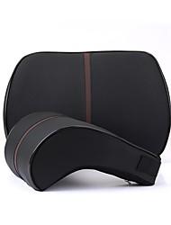 cheap -Car Waist Cushions Waist Cushions Black / Beige / Coffee leatherette Common For GM All years