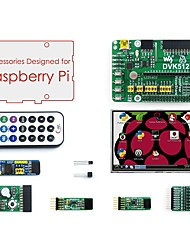 cheap -Accessories Pack (type A) for Raspberry Pi, including Expansion Board DVK512, LCD, Modules, and Cables(Raspberry Pi is NOT included)