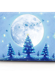 cheap -MacBook Case Oil Painting Cartoon / Christmas PVC for Air Pro Retina 11 12 13 15 Laptop Cover Case for Macbook New Pro 13.3 15 inch with Touch Bar