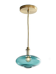 cheap -Mini Pendant Light Downlight Electroplated Painted Finishes Metal Glass 110-120V / 220-240V