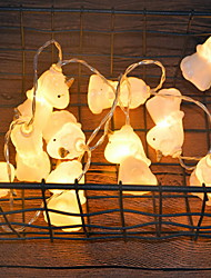 cheap -3m Cartoon Unicorn String Lights 20 LEDs Warm White Bedroom Decorative AA Batteries Powered 1set
