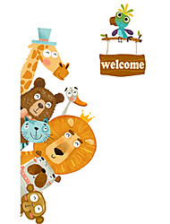 cheap -Decorative Wall Stickers - Plane Wall Stickers Animals / Holiday Dining Room / Kids Room