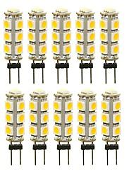 cheap -SENCART 10pcs 3 W LED Bi-pin Lights 180 lm G4 T 13 LED Beads SMD 5050 Decorative Warm White White Red 12 V