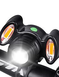 Недорогие -Светодиодная лампа Велосипедные фары Передняя фара для велосипеда Фары для велосипеда Горные велосипеды Велоспорт Велоспорт Водонепроницаемый Супер яркий Простота транспортировки Быстросъемный