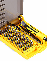 cheap -Professional Portable 45 in 1 Hardware Screwdriver Tools Precision Bit Fix Hand Tool Kit For Phone Laptop Household Repair