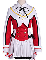 cheap -Inspired by Love Live Cosplay Anime Cosplay Costumes Japanese Cosplay Suits Color Block Top Skirt Bow For Men's Women's / More Accessories / Wig / More Accessories / Wig