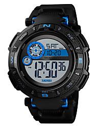 Недорогие -SKMEI Муж. Спортивные часы Армейские часы электронные часы Цифровой Черный / Зеленый 50 m Будильник Календарь Секундомер Цифровой На каждый день Мода - Черный Зеленый Синий / Один год / Хронометр