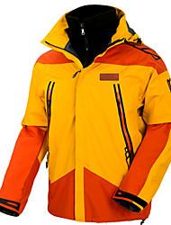 Недорогие -Муж. Лыжная куртка Сохраняет тепло Водонепроницаемость С защитой от ветра Катание на лыжах Отдых и Туризм Сноубординг 100% полиэстер Зимняя куртка Одежда для катания на лыжах / Зима