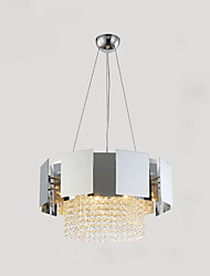 cheap -QIHengZhaoMing 3-Light Chandelier Ambient Light Electroplated Metal 110-120V / 220-240V Warm White