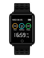 cheap -BoZhuo F21 Men Smart Bracelet Smartwatch Android iOS Bluetooth Sports Waterproof Heart Rate Monitor Blood Pressure Measurement Calories Burned Pedometer Call Reminder Sleep Tracker Sedentary Reminder