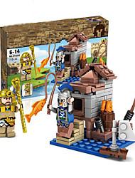 abordables -Blocs de Construction Blocs Militaires Playsets de véhicules 100-200 pcs Militaire Moulin à vent Maison compatible Legoing Simulation Tous Garçon Fille Jouet Cadeau / Enfants / Enfant