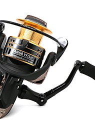 cheap -Fishing Reel Spinning Reel 5.2:1 Gear Ratio+9 Ball Bearings Hand Orientation Exchangable Spinning / General Fishing