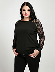 cheap -Cute Ann Outdoor Polyester for Fall Shirts & Tops Clothing Apparel & Accessories / Lace / Cotton / Plus Size