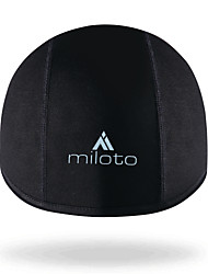 cheap -Miloto Cycling Beanie / Hat Helmet Liner Skull Cap Beanie Solid Color UV Resistant Fleece Lining Breathable Warm Anti-slip Strap Bike / Cycling Black Spandex Fleece Winter for Men's Women's Adults'