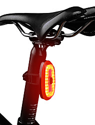 cheap -Laser Bike Light Rear Bike Tail Light Safety Light Mountain Bike MTB Bicycle Cycling Rotatable Smart Induction Quick Release Color Gradient USB 1000 lm Rechargeable USB Red Camping / Hiking / Caving