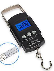 Недорогие -50kg/10g Портативные Ручная электронная шкала для багажа Наружное путешествие