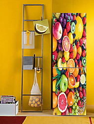 cheap -Fridge Stickers - 3D Wall Stickers Abstract / Landscape Kitchen / Dining Room