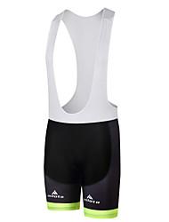 cheap -Miloto Men's Cycling Bib Shorts Bike Bib Shorts Padded Shorts / Chamois Pants Sports Polyester White / Black / Bule / Black Clothing Apparel Form Fit Bike Wear / Stretchy