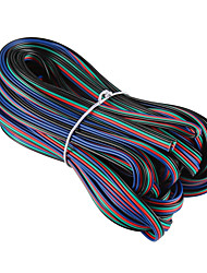 Недорогие -ZDM® 1шт 1000 cm Газонокосилка пластик Электрический кабель для RGB LED Strip Light