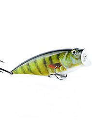 cheap -1 pcs Popper Fishing Lures Hard Bait Popper Outdoor Floating Bass Trout Pike Sea Fishing Fly Fishing Bait Casting ABS / Spinning / Lure Fishing / General Fishing