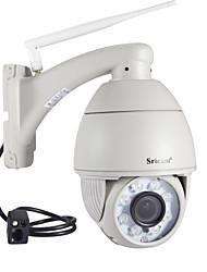 Недорогие -sricam® sp008b 1-мегапиксельная 720p IP-камера 3,6 мм на открытом воздухе 20-метровая ИК-камера Ptz для сетевой безопасности Водонепроницаемая камера Ip66