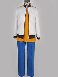preiswerte -Inspiriert von Inazuma Eleven Mark Evans Anime Cosplay Kostüme Japanisch Schuluniformen Einfache Solide Mantel Top Hosen Für Herrn Damen