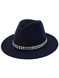 cheap -Elizabeth The Marvelous Mrs. Maisel Women's Adults' Ladies Retro Vintage Felt Hats Hat Ink Blue Red Coffee Vintage Headwear Lolita Accessories