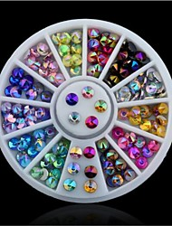 cheap -1 pcs Multi Function / Best Quality Eco-friendly Material Nail Jewelry For Creative nail art Manicure Pedicure Daily Trendy / Fashion