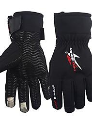 cheap -Full Finger Men's Motorcycle Gloves Flannel / Nylon Keep Warm / Wearproof / Non Slip