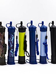 cheap -Portable Water Filters & Purifiers Plastic Water Filtration for Outdoor Exercise Everyday Use 1 pcs Black Navy Blue White Yellow Camouflage