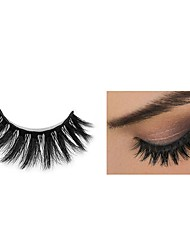 cheap -Eyelash Extensions 2 pcs Handmade 3D Thick Soft Beauty Cute Animal wool eyelash Party Birthday Daily Wear Full Strip Lashes Crisscross Natural Long - Makeup Daily Makeup Sexy High Quality Cosmetic