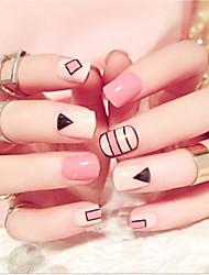 cheap -24 pcs Multi Function Eco-friendly Material Geometric Rhinestones For Creative nail art Manicure Pedicure Daily Fashion
