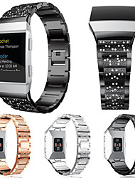 Недорогие -Ремешок для часов для Fitbit ionic Fitbit Спортивный ремешок / Дизайн украшения Нержавеющая сталь Повязка на запястье