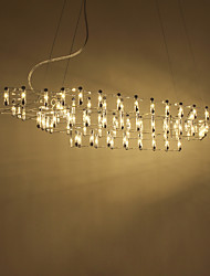 cheap -UMEI™ Sputnik / Novelty Chandelier Ambient Light Electroplated Aluminum Creative, LED, Cool 110-120V / 220-240V Warm White / White