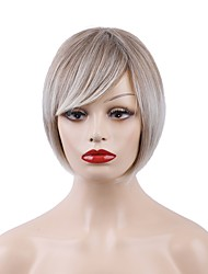 cheap -Synthetic Wig Natural Straight Pixie Cut Wig Blonde Short Strawberry Blonde / Light Blonde Synthetic Hair 10 inch Women's Fashionable Design New Arrival Comfortable Blonde MAYSU / Natural Hairline