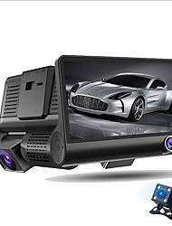 Недорогие -ziqiao a32 fhd 1080p автомобиль dvr 4-дюймовый приборный отсек 3 объектива камеры ночного видения dvr