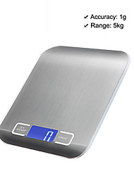 cheap -5kg/1g High Definition LCD-Digital Screen Electronic Kitchen Scale Home life