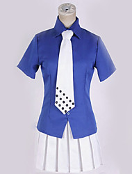 cheap -Inspired by One Piece Cosplay Anime Cosplay Costumes Japanese Cosplay Suits Simple Solid Colored Shirt Top More Accessories For Men's Women's / Tie / Tie