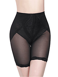 abordables -Normal Nylon Culotte Sexy Broderie Mariage Couleur Unie