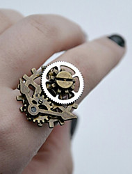 cheap -Plague Doctor Vintage Inspired Steampunk Masquerade Men's Women's Costume Ring Golden Vintage Cosplay / 1 Ring / 1 Ring