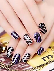 cheap -1 pcs Full Nail Stickers Creative nail art Manicure Pedicure Multi Function Trendy / Fashion Daily